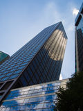 Office buildings in the financial district of Frankfurt, Germany Stock Image