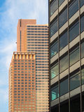 Office buildings in Frankfurt. Germany Royalty Free Stock Photos