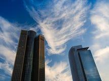 Office buildings in Frankfurt. Germany Stock Photo