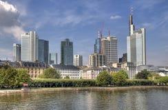 Office buildings in Frankfurt, Germany Stock Images