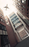 Office Buildings in Hamburg Royalty Free Stock Photo