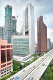 Modern Singapore Royalty Free Stock Image