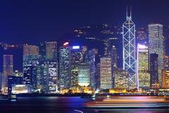 Office buildings in Hong Kong Stock Photos