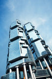Office Buildings in Hong Kong Stock Images