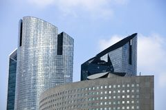 Office Buildings in La Defense Royalty Free Stock Photo