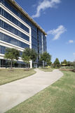 Office buildings and landscapes background. Beautiful  modern landscapes and office buildings design, TX USA Stock Image