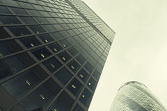 Office buildings in London Royalty Free Stock Photo