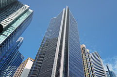 Office Buildings in Makati, Manila - Philippines Stock Images