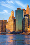 Office Buildings in Manhattan, morning, New York City Royalty Free Stock Photography