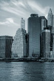 Office Buildings in Manhattan, New York City Royalty Free Stock Image