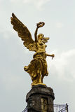 Office buildings at Mexico city. MEXICO CITY,MEXICO-SEPTEMBER 12,2016: Detail of the Angel of Independence monument, a famous landmark at Mexico city, Mexico Royalty Free Stock Photos