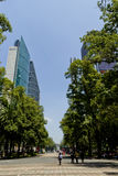 Office buildings at Mexico city Stock Photography