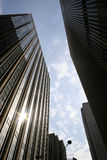 Office buildings in Midtown Manhattan Royalty Free Stock Image