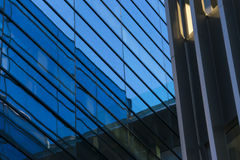 Office buildings. With modern corporate architecture Royalty Free Stock Image