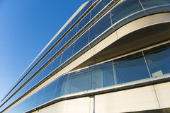 Office buildings with modern corporate architecture Royalty Free Stock Image