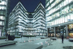Office buildings at More London Riverside area - London England  UK Royalty Free Stock Photos