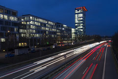 Office buildings in Munich, Germany Stock Images