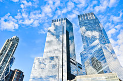 Office Buildings in New York. Royalty Free Stock Photo