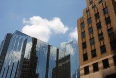 Office buildings in Oklahoma. Beautiful modern office buildings in downtown Oklahoma Stock Photo
