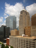 Office buildings in Oklahoma. Office buildings in downtown Oklahoma city, USA Stock Photo