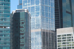 Free Office Buildings On A City Closeup Royalty Free Stock Photo - 27603695