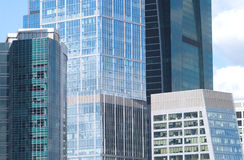 Free Office Buildings On A City Closeup Stock Photos - 31218783