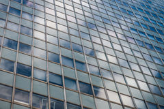 Office buildings. Photo of the office buildings with glass windows. Sky in the background Royalty Free Stock Images