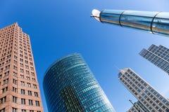 Office buildings at Potsdamer Platz, Berlin Royalty Free Stock Photography