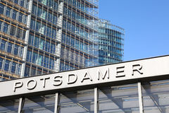 Office buildings in Potsdamer Platz, Berlin Royalty Free Stock Photography