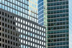 Office Buildings Reflecting Royalty Free Stock Photography