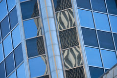 Office buildings with reflections Stock Image
