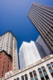 Office buildings at San Francisco city centre. Skyscrapers at San Francisco CBD, California, USA stock photo