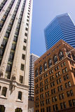 Office buildings at San Francisco city centre. Skyscrapers at San Francisco CBD, California, USA royalty free stock image