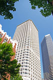 Office Buildings - Seattle Stock Image