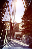 Office buildings in the sun Royalty Free Stock Image