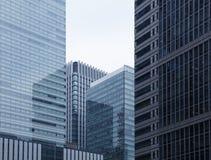Office buildings in Tokyo Stock Image