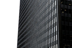 Office buildings in the USA.  Royalty Free Stock Images