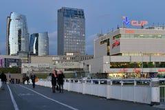 Office buildings in Vilnius Stock Image
