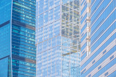 Office buildings walls. Royalty Free Stock Image