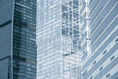 Office buildings walls. Stock Images
