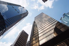 Office bulding. Tall office building in down town Hong Kong Royalty Free Stock Image