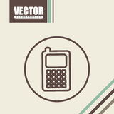 Office and business icon design Royalty Free Stock Images