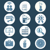 Office and business icon Stock Photo