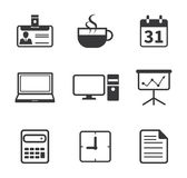 Office and Business Icon Royalty Free Stock Photos