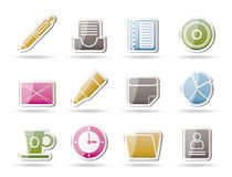 Office & Business Icons Stock Photography