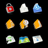 Office & Business icons Royalty Free Stock Images