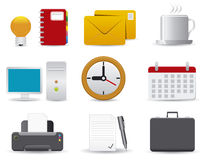 Office & Business icons Stock Photo