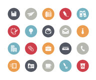 Office & Business Icons // Classics Series Royalty Free Stock Photography