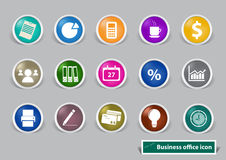 Office and Business Icons. Eps10 Royalty Free Stock Photography