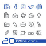Office & Business Icons // Line Series. Vector icons set for your web or presentation projects Stock Image